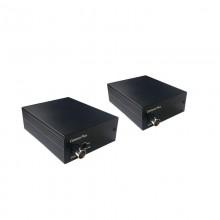 Удлинитель видеосигнала по коаксиальному кабелю M1E+DM1E