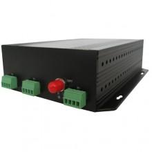 Комплект оптический приемник-передатчик видеосигнала NT-D000-4TK-20