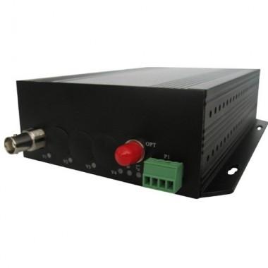 Комплект оптический приемник-передатчик видеосигнала NT-D100-20
