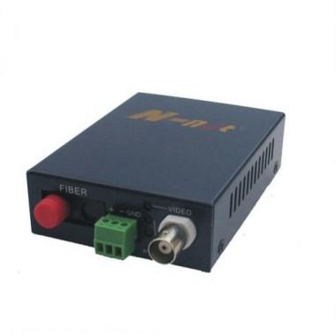 Комплект оптический приемник-передатчик видеосигнала NT-D100MINI-20