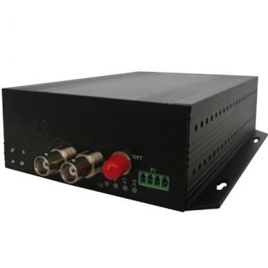 Комплект оптический приемник-передатчик видеосигнала NT-D200-20