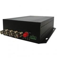 Комплект оптический приемник-передатчик видеосигнала NT-D400-20