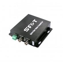 Передатчик 1-канальный по оптоволокну SFS11S5T