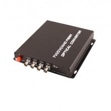 Передатчик 4-канальный по оптоволокну TA-H4/1F