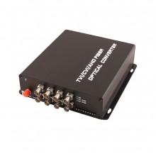 Передатчик 8-канальный по оптоволокну TA-H8/1F