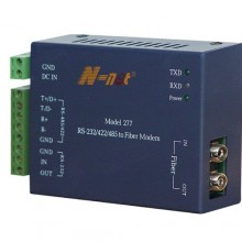 Преобразователь интерфейсов RS-232/422/485 в оптику NT-277S