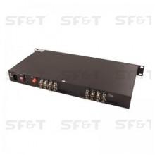 Приемник 16-канальный по оптоволокну SF160S2R/HD