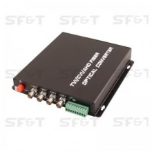 Приемник 4-канальный по оптоволокну SF42S5R/HD