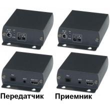 Удлинитель HDMI, ИК-сигнала, RS232 HE01F