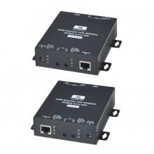 Комплект для передачи HDMI-сигнала, ИК-управления, RS232 HE02EIX