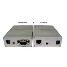 Комплект (передатчик+приёмник) VGA и аудиосигнала TA-V/1+RA-V/1
