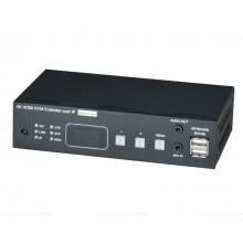 Удинитель HDMI, USB, аудио, RS232, ИК-сигналов HKM02BPR-4K