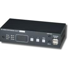 Удлинитель HDMI, USB, аудио, RS232, ИК-сигналов HKM02BR-4K