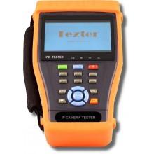 Многофункциональный тестовый видеомонитор для аналогового и IP видеонаблюдения TIP-4,3(ver.2)