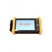 Многофункциональный тестовый видеомонитор для аналогового и IP видеонаблюдения TIP-H-7