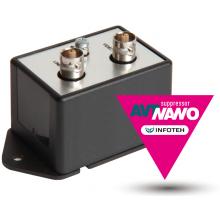 Подавитель помех в AHD/CVI/TVI AVT-Nano Coax Suppressor