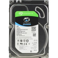 Жесткий диск (HDD) для видеонаблюдения HDD 3000 GB (3 TB) SATA-III SkyHawk (ST3000VX010)