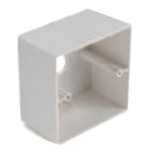 Бокс для поверхностного монтажа регуляторов и селекторов стандарта U40 LM1-SMB-U40