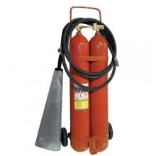 Огнетушитель углекислотный, передвижной ОУ-15