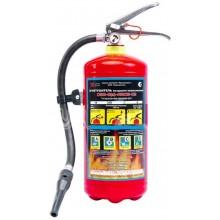 Огнетушитель воздушно-эмульсионный закачной ОВЭ-6(З)-АВСЕ-02 морозостойкий