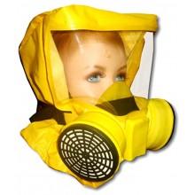 Самоспасатель фильтрующий с четвертьмаской детский Шанс-Е с четвертьмаской