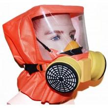 Самоспасатель фильтрующий с полумаской Шанс-Е с полумаской