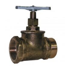 Вентиль латунный Вентиль КПЛП50-1 (муфта-цапка)