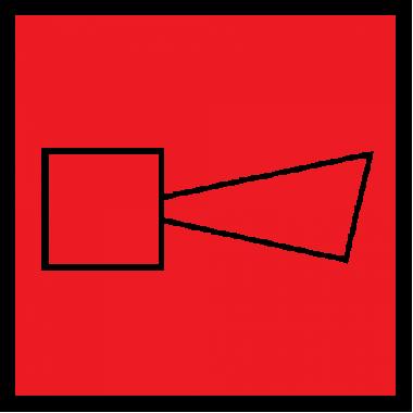 Пленка Плёнка (F-11) Звуковой оповещатель пожарной тревоги (200х200)