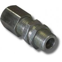 Кабельный ввод для монтажа бронированным кабелем из алюминиевого сплава КВ12-М