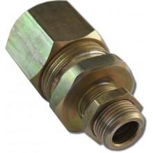 Кабельный ввод для монтажа бронированным кабелем из алюминиевого сплава КВ18-М