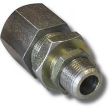 Кабельный ввод для монтажа в металлорукаве из алюминиевого сплава КВ15-М