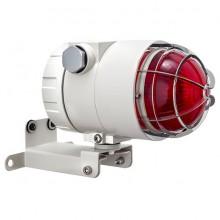 Оповещатель охранно-пожарный световой взрывозащищённый ВС-07е-Ех-СД 12-24 (компл.08), КВМ15+ЗГ