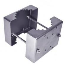 Адаптер крепления на столб из нержавеющей стали (D110-150 мм, >150 мм по спец. заказу) АК-С