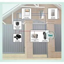 Система ограничения доступа на базе видеодомофона и электромеханического замка Типовое решение: ДМФ-001
