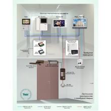 Домофонная система ограничения доступа в тамбуры многоквартирного дома Типовое решение: ДМФ-008