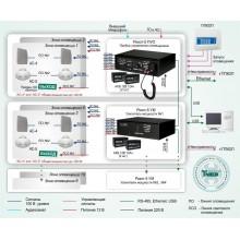 Система трансляции речевых сообщений в системах пожарной сигнализации на базе оборудования «Рокот» Типовое решение: СОУЭ-009