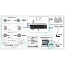 Система автоматического оповещения и музыкальной трансляции на базе оборудования ROXTON Типовое решение: СОУЭ-003