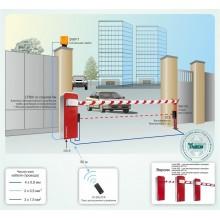 Система контроля доступа на базе автоматического шлагбаума Comunello, длина стрелы 6 метров Типовое решение: СКУД-012