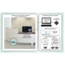 Биометрическая система учета рабочего времени на базе универсального контроллера Smartec - терминала ST-FT161EM Типовое решение: СКУД-014