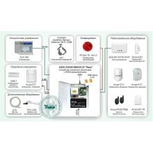 Автономная система охранно-пожарной сигнализации с оповещением по GSM каналу и возможностью расширения Типовое решение: ОПС-042