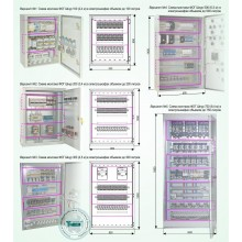 """Автономные установки пожаротушения ФОГ """"Шнур"""" для подавления возгораний в электротехнических шкафах различных размеров Типовое решение: СП-008"""