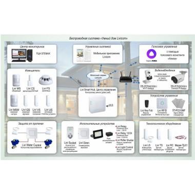 Система домашней безопасности и комфорта Livicom Типовое решение: УМД-003